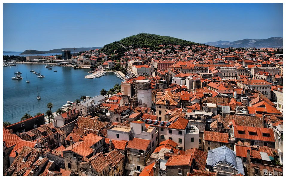 View of Split, Croatia - by Sobrecroacia.com