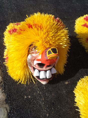 Yellow Waggis at Fasnacht