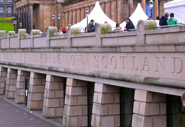 The National Galleries of Scotland in Edinburgh