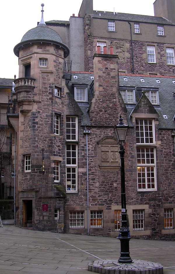 The Writer's Museum in Edinburgh