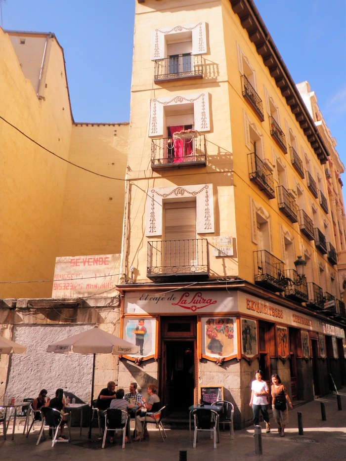 Cafe near Plaza Santa Ana - Lavapies
