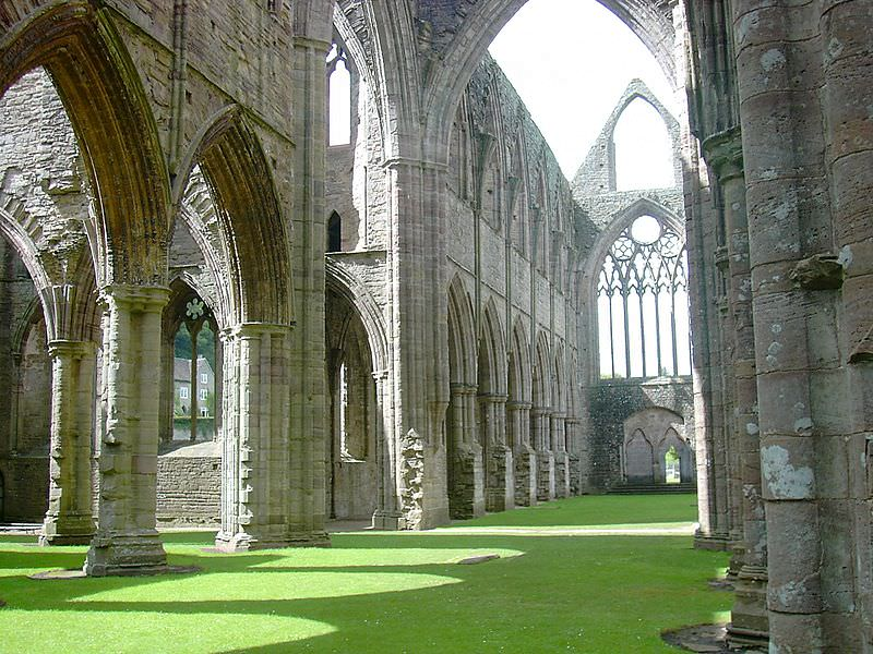 Tintern Abbey interior