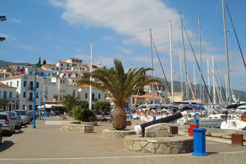 Poros, Greece Harbour View