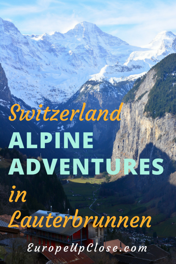 Alpine Adventures in Lauterbrunnen Switzerland #swiss #switzerland #alpes #mountains #hiking #climbing #adventuretravel #travel #traveling #travelling #Europe #alpine #outdoors #nature