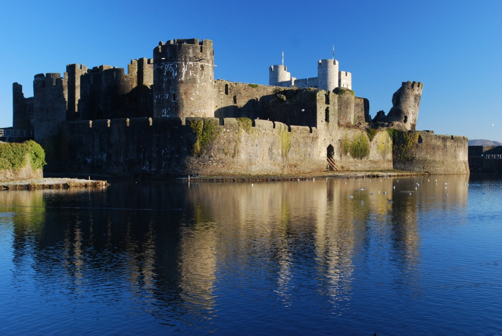 Caerphilly Castle - Photo by Robert Payne