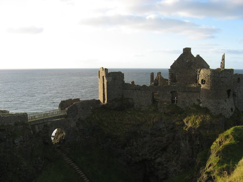 Dunluce Castle and Bridge