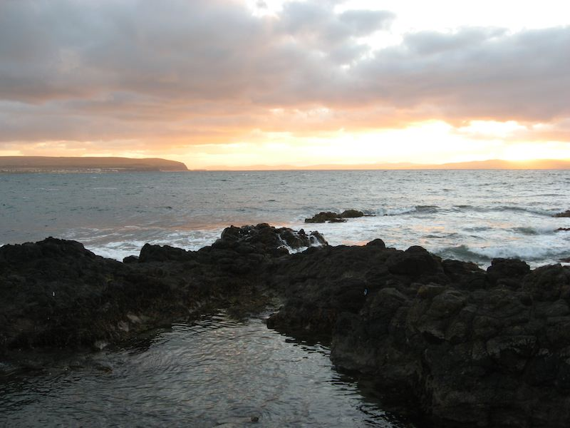 Dunluce at sunset