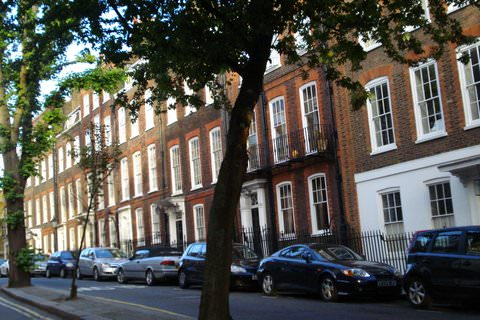 London's Hampstead street