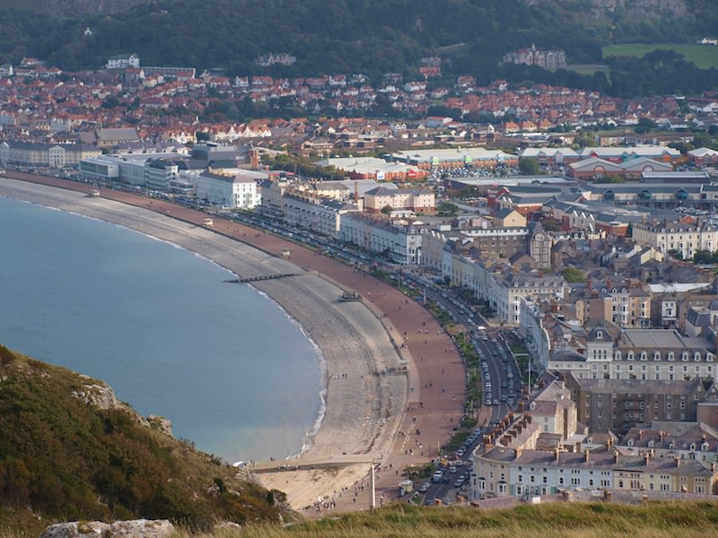 Llandudno from the Great Orme - Photo by Nigel-Swales