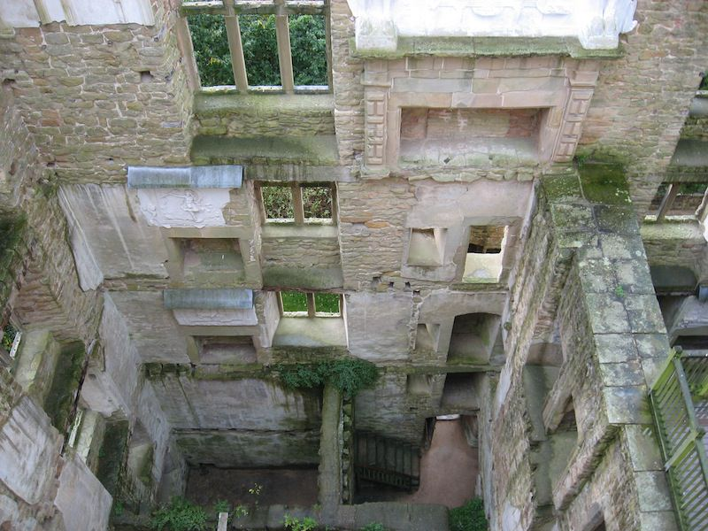Lower Floors of Old Hardwick Hall