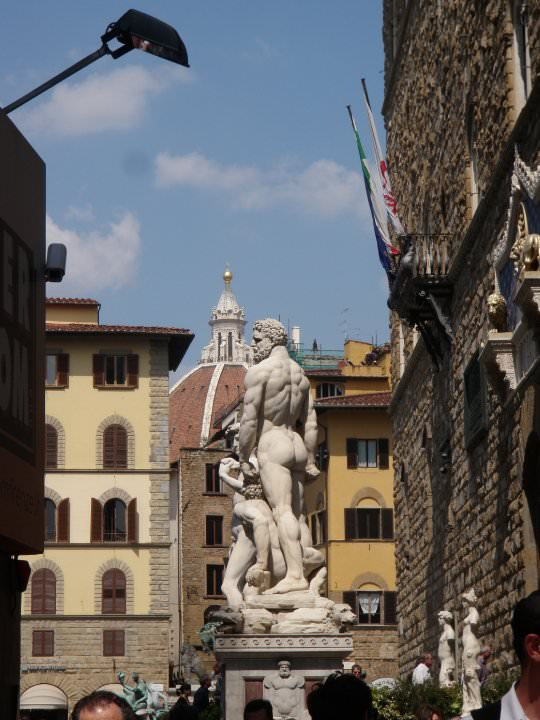Replica of David in Florence