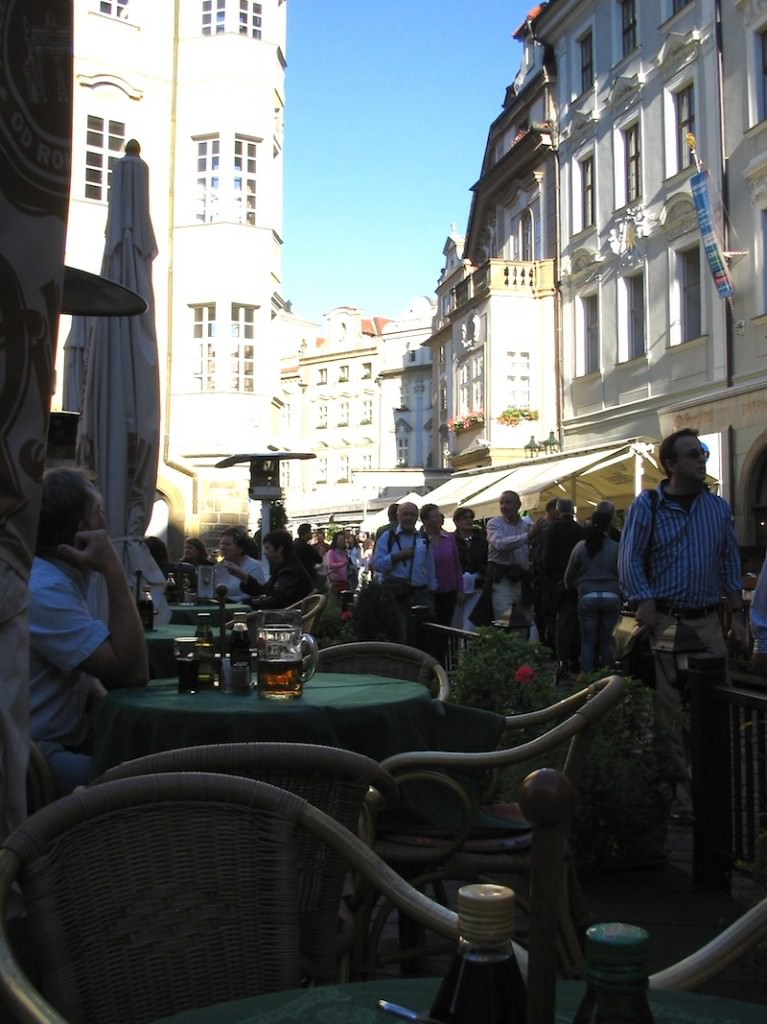 Cafe Culture in Prague