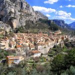 A Star Shines in Moustiers Sainte Marie – Provence, France