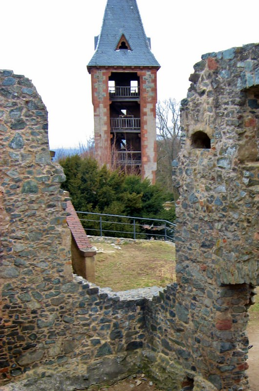 Frankenstein Tower and Ruins
