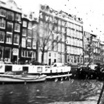 Amsterdam in Black and White
