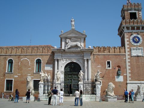 The Arsenal in Venice