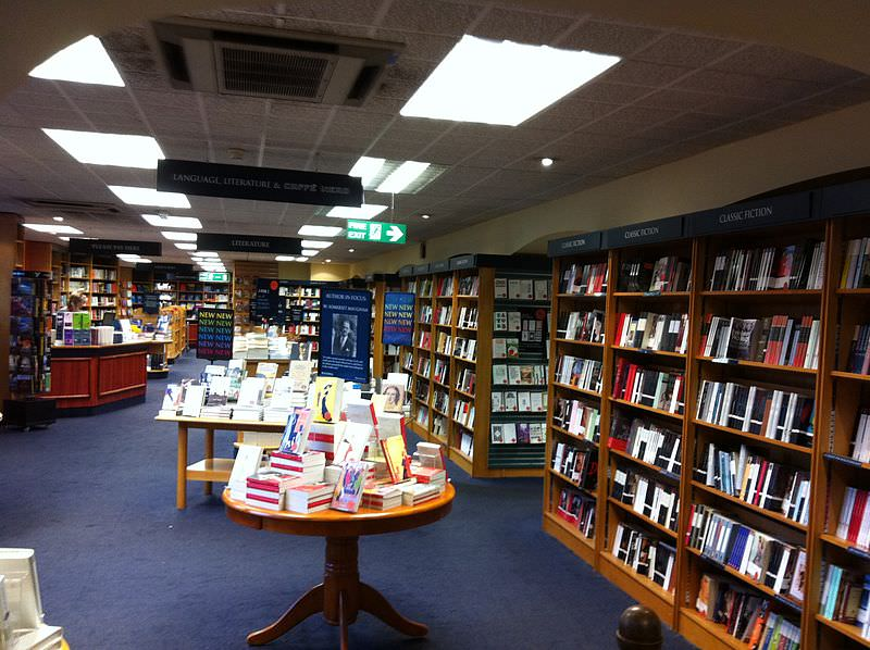 Blackwell's Book Shop in Oxford