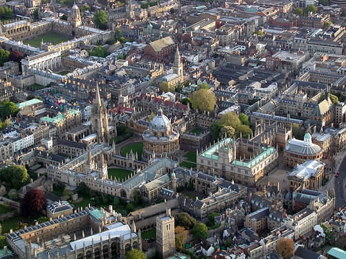 Oxford City Birdseye view