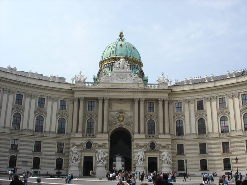 Vienna's Hofburg Imperial Place