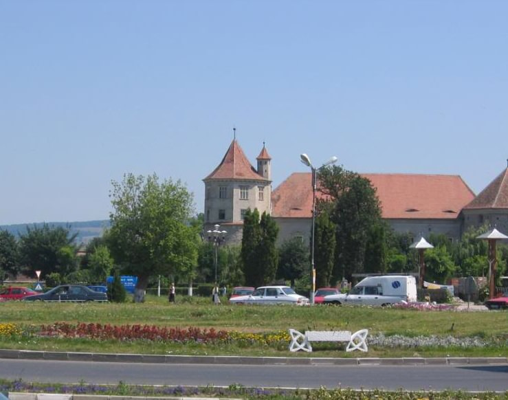 Fagaras town center
