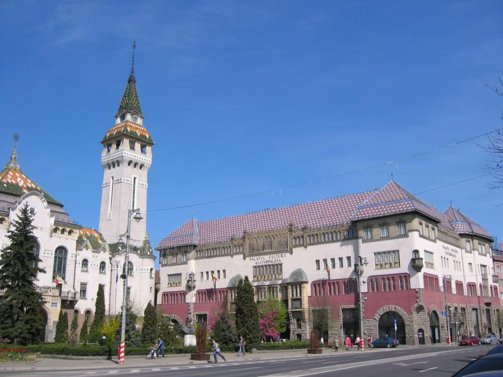Targu Mures Town Hall and Culture Palace