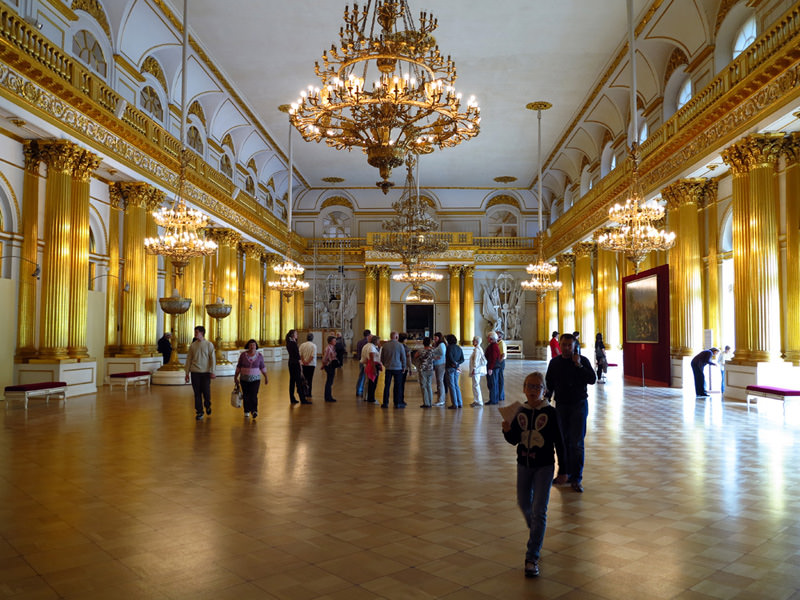 A glamorous state room - Winter Palace