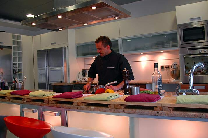 L'Atelier de Cuisine a cooking school in France