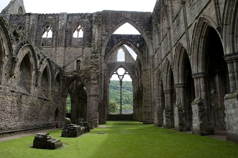 Tintern Abbey Interior by Mark Fowler