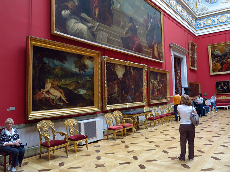 Works of the Old Masters - State Hermitage Museum