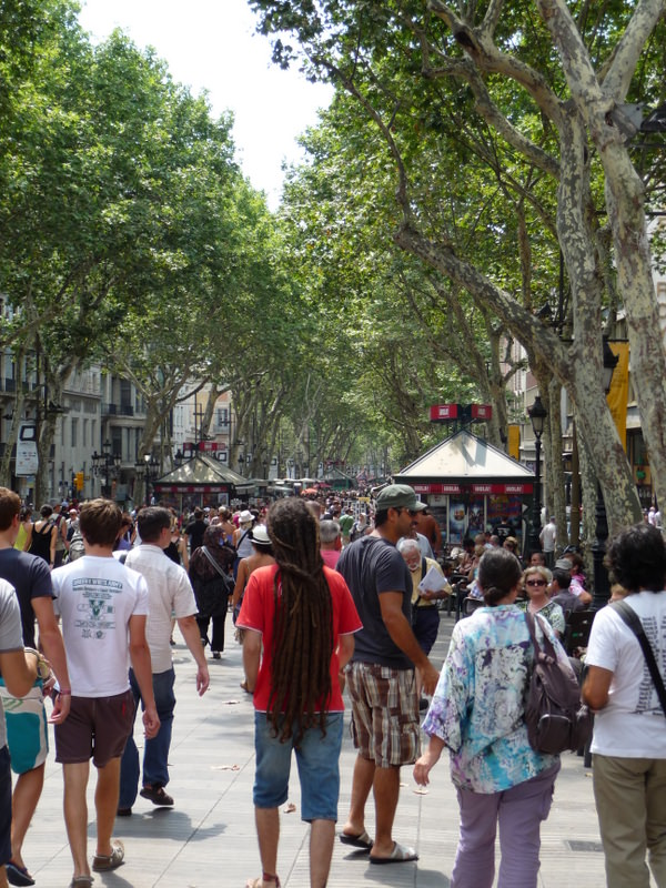 A Ramble down the Ramblas