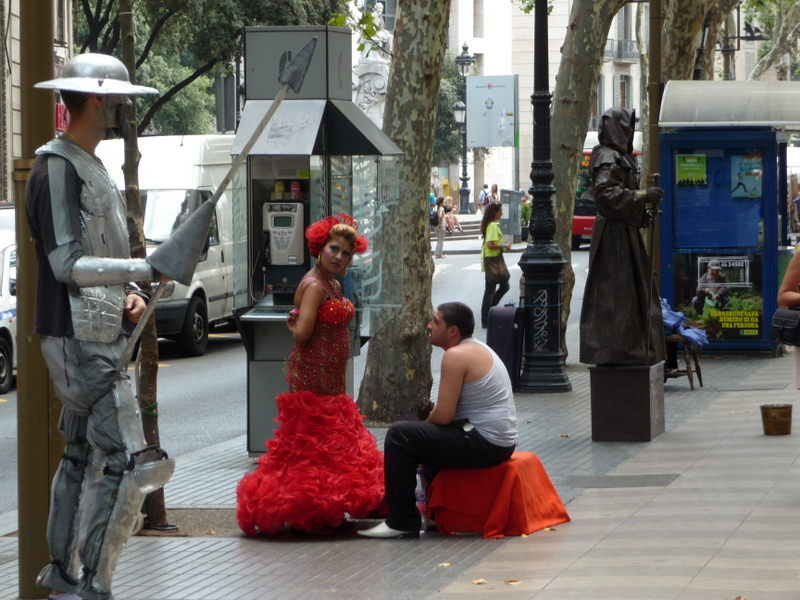 Don Quixote meets the Flamenco Dancer