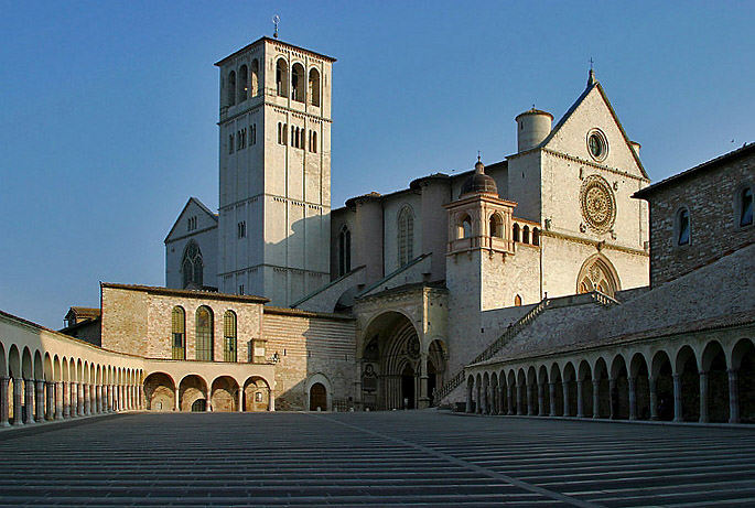 Basilica of St Francis Assisi - Lightmatter