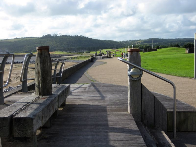 Millennium Coastal Park near Llanelli, photo by Wiccasha