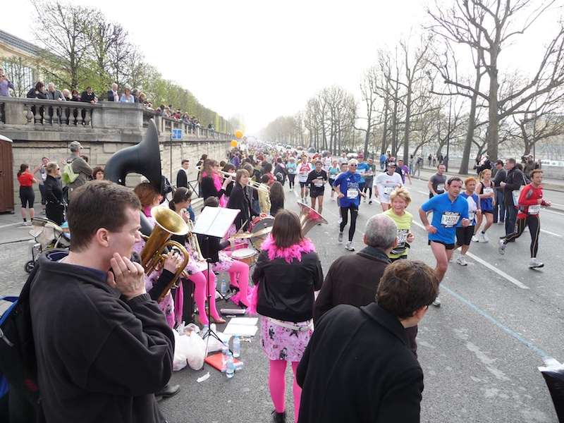 Paris Marathon to music