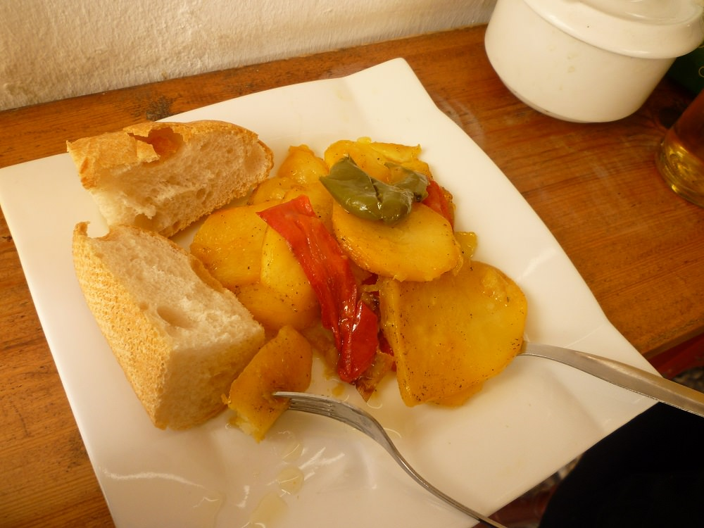 Tapas - Potatoes and Peppers