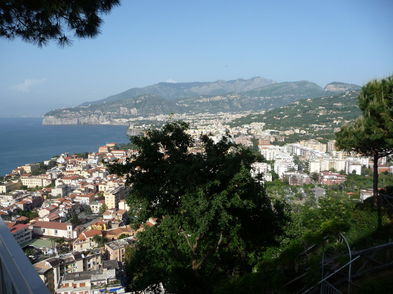 View from the Grand Hotel President Sorrento