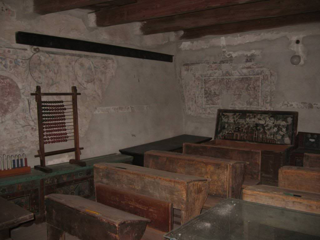 Prejmer village schoolroom