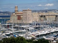 Vieux Port and Fort St. Jean, Marseille