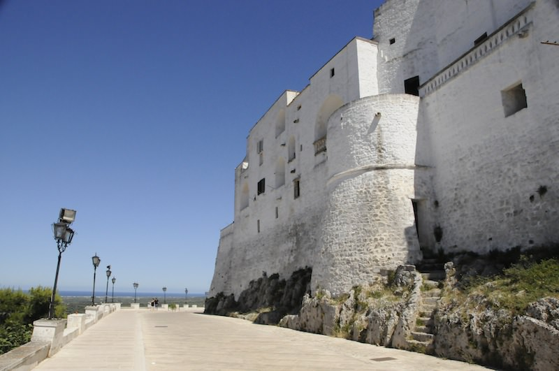 White-Washed Town in Puglia