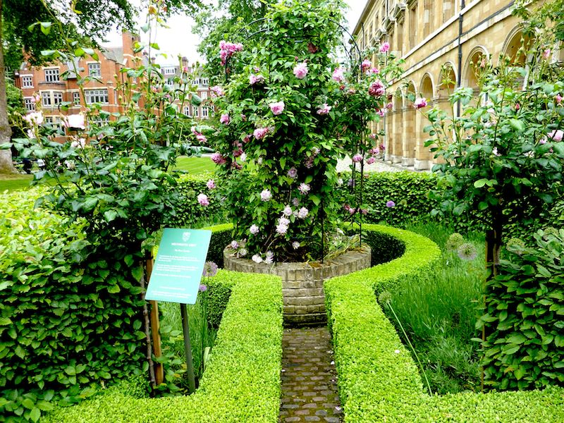 College Garden Westminster Abbey