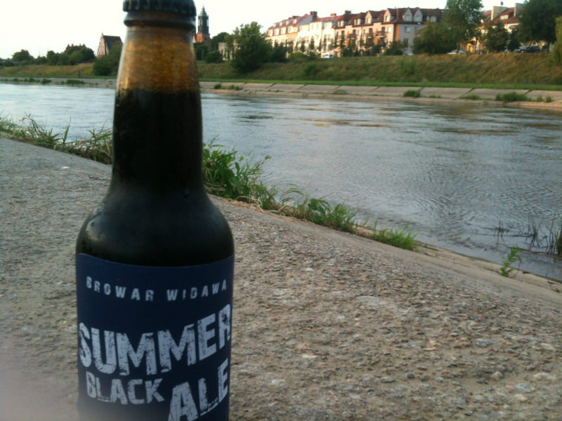 Widawa Black Summer Ale