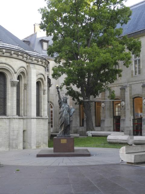 Entrance to the Musee des Arts et Metiers