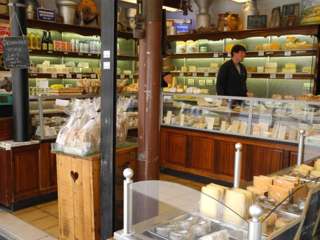 Paris cheese shop