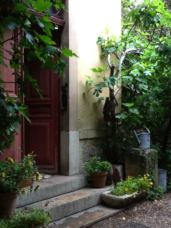 Entrance to Cezanne's studio