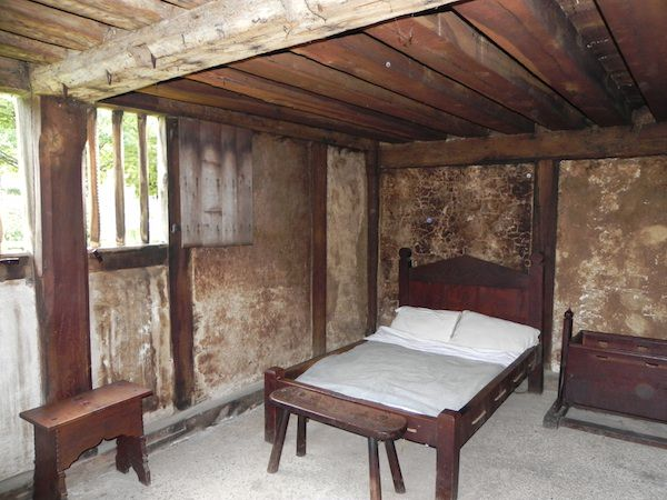 A Bedroom in the 17th Century House