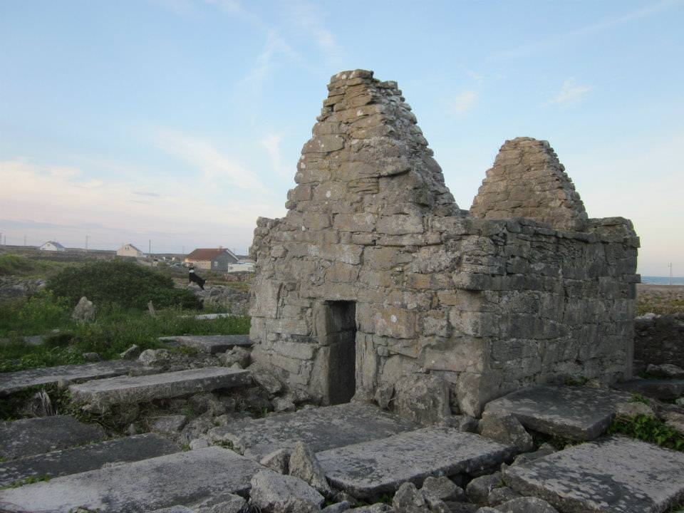 Some old ruins on Inis Meain