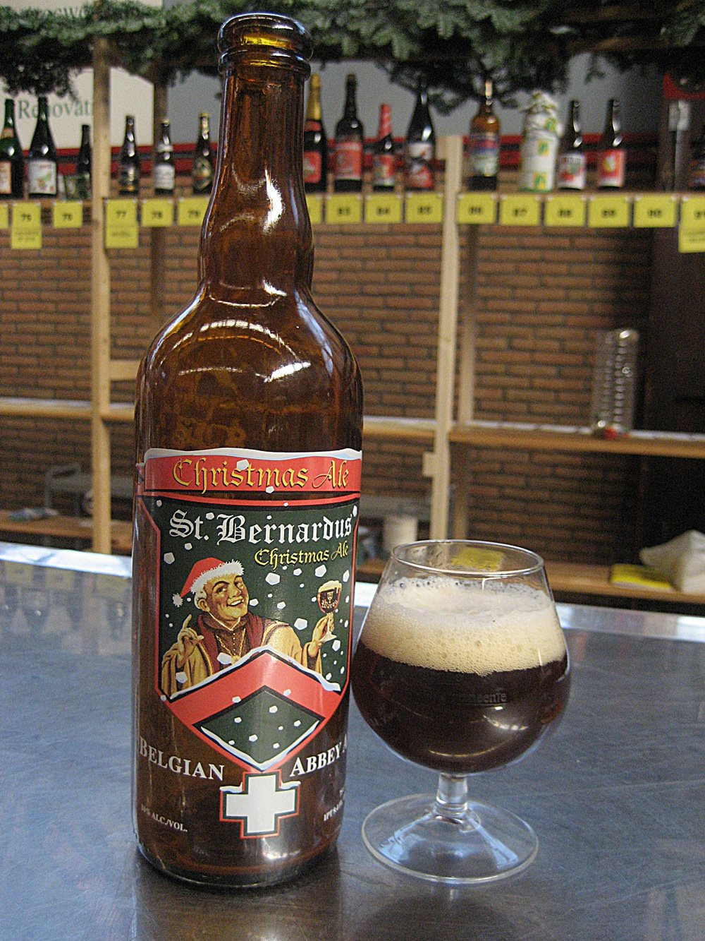 One of the Belgian Abbey beers - Photo courtesy of William Roelens