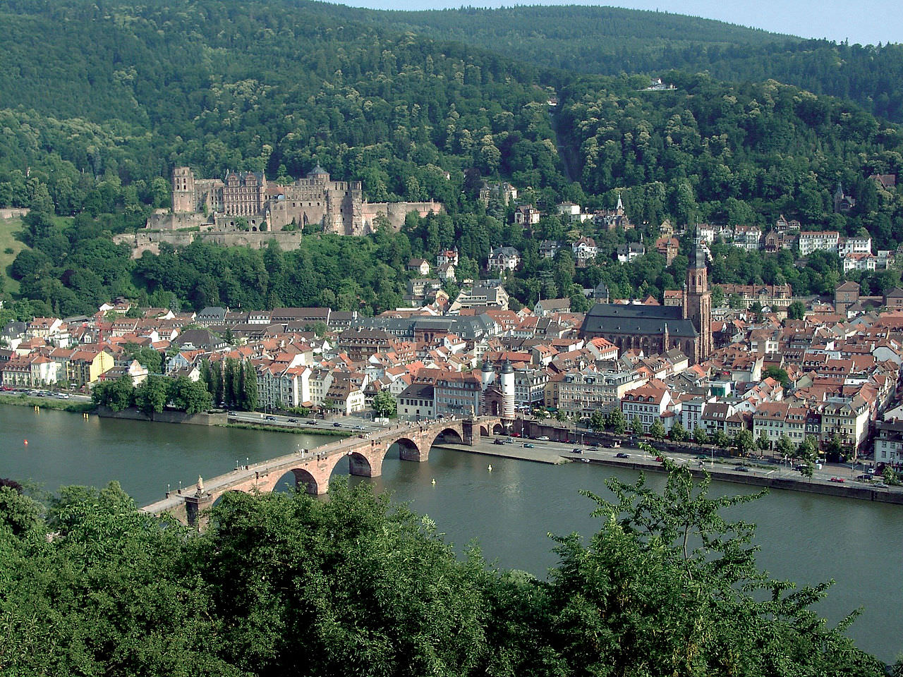 Heidelberg - photo from Wikipedia