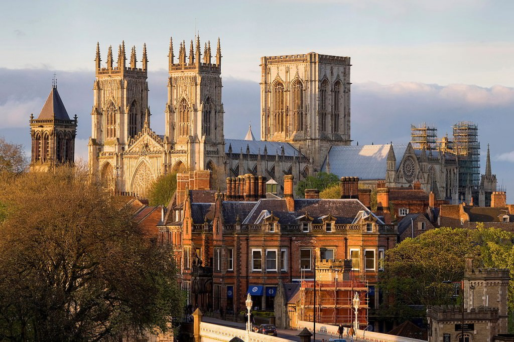 York Minster from the Lendal Bridge - by Jimmy Guano