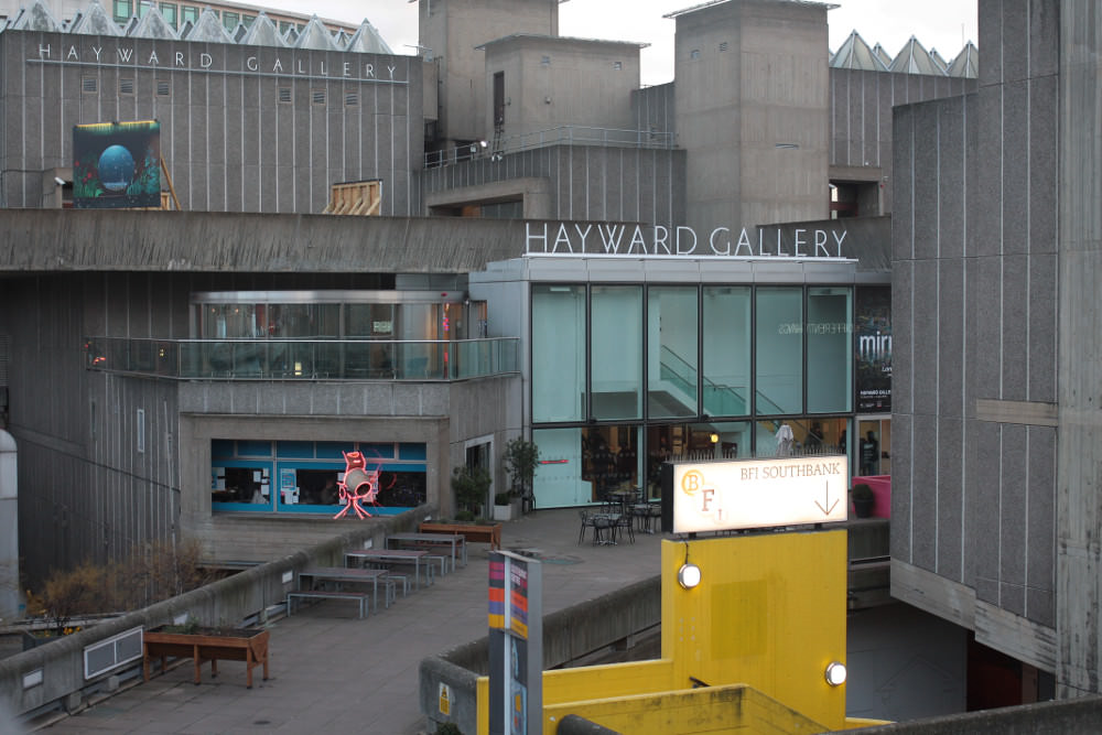 Hayward Gallery is floating between digital and physical reality.